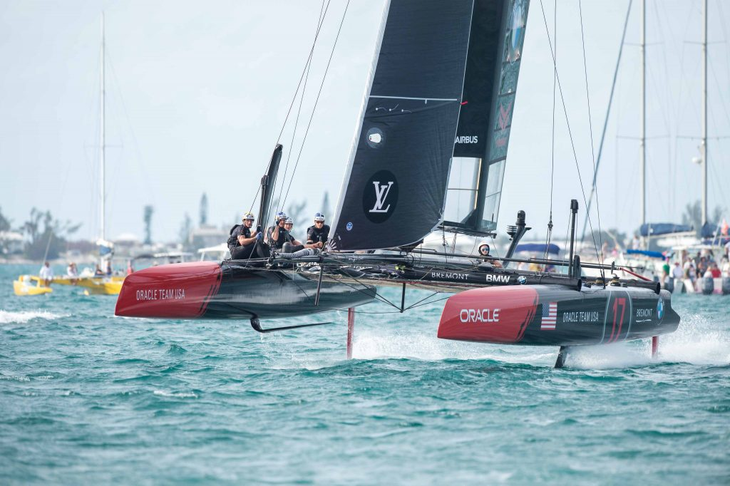 18/10/15 - Hamilton (BDA) - 35th America's Cup Bermuda 2017 - Louis Vuitton America's Cup World Series Bermuda - Racing Day 2